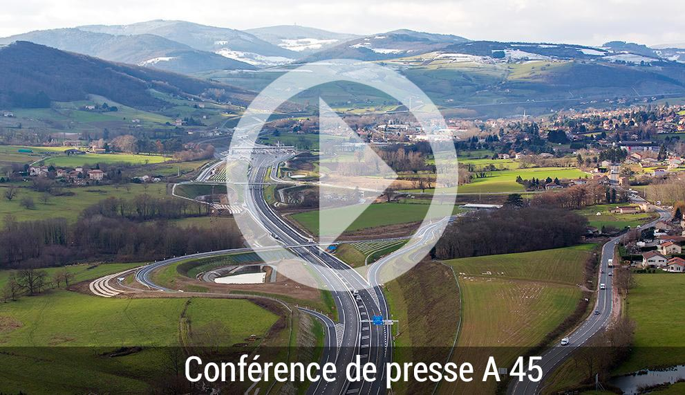 Conférence de presse A45 - BTP42